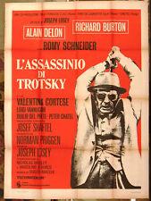 L'assassinio di Trotsky (Alain Delon) Italian movie Poster (2F) 70s