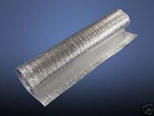 (Lot of 2 ) 4ft x 4ft Reflective SOLID Foam Core Insulation Pipe HVAC Duct Wrap