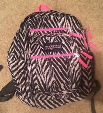 Jansport Animal Print & Hot Pink Back Pack