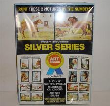 DOBMAIER VINTAGE PAINT BY NUMBER USA HORSE PROUD THOROUGHBRED ART AWARD SEALED