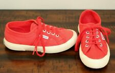 Superga Red Sneakers sz 13.5 Girls Shoes Jcot Classic Lace Up