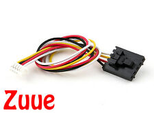 FPV Camera to TX 200mm 5 Pin Molex/JR to 6 Pin White Connector Lead 64630