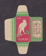 Etiquette de lame de rasoir  Tchécoslovaquie  BN18294 Aigle 1