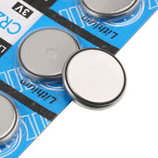 5x CR2032 3V Volt Coin Button Cell Battery for Watch Toys Remote Battery Pcak
