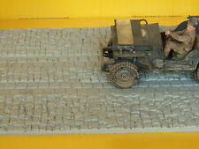 Pavimento in pietra per modellismo scala 1:35 per diorama cm.23X13 - Krea 3205