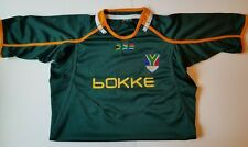 Men's South Africa Rugby Sprinboks Bokke Jersey Shirt in Size 2XL Stitched