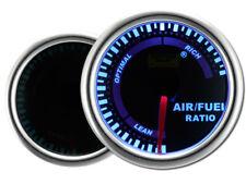 Motor Meter SMOKE LED Blau Zusatzanzeige Zusatzinstrument Mischverhältnis