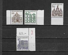 2217 - Bund - Mi-Nr. 454 + 455 + 461 Rand 457 Eckrand  postfrisch