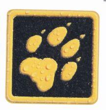 1 Jack Wolfskin Aufkleber Logo - Sticker, schwarz orange, ca 4 x 4 cm, neu