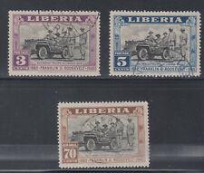 Liberia # 296-97 C51 FDR Used Complete Set
