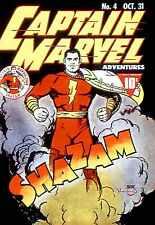 Captain Marvel Adventures #4 Photocopy Comic Book