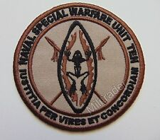 US Naval Special Warfare Unit 10 Sleeve Patch (Navy Seal) Desert