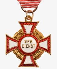 Österreich Militär-Verdienstkreuz 3. Klasse Orden Abzeichen KuK Kreuz Medaille