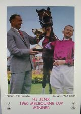 HI JINX 1960 Melbourne Cup Print