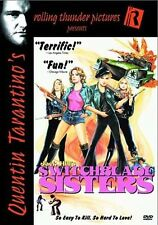 NEW DVD // Switchblade Sisters // Quentin Tarantino's Rolling Thunder(RARE!|)