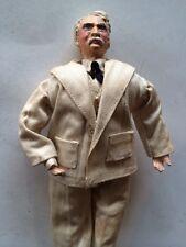 """Rare Antique Eubank Collectible Mark Twain Doll 10 1/2"""""""