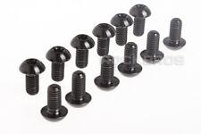 ROCKBROS Titanium Ti Rotor Bolt Screw Avid Disc Brake Black M5 x 10mm 12pcs New