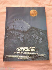 VINTAGE BSA BOY SCOUTS OF AMERICA 1988 OFFICIAL GUIDE CATALOG