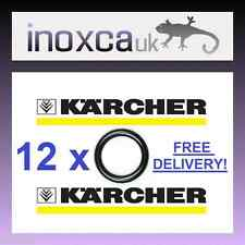 12 KARCHER HD HDS HOSE NOZZLE JET LANCE SPARE O-RING SEALS O RINGS O RING SEAL