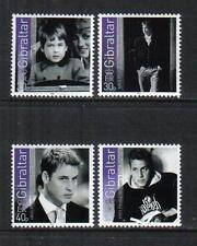 Gibraltar 2003 Prince William 21st Birthday--Attractive Topical (942-45) MNH