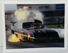 NITRO BANDIT BLOWING UP FORD FOX BODY MUSTANG FC BRAD TUTTLE PHOTO DRAG RACING