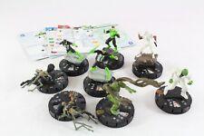 Heroclix DC Swamp Thing Hal Jordan Kyle Rayner Simon Baz Killer Cros LE Lot