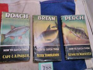 Vintage Fishing Books Perch Roach Bream