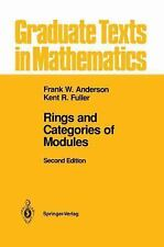 Graduate Texts in Mathematics Ser.: Rings and Categories of Modules 13 by...