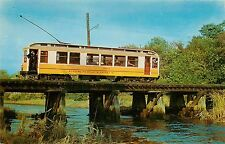 Branford Trolley Museum Car #500 East Haven Ct Short Beach postcard