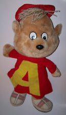 "Vintage 1983 Alvin and The Chipmunks Pull String Plush 20"" - RETRO -"