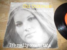 CHI COLTRANE GO LIKE ELIJAH/ITS REALLY COME TO THIS 1972 CBS RECORDS DUTCH PRESS