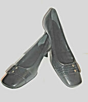 Kenneth Cole New York Black Leather Heels~Size 6.5 B