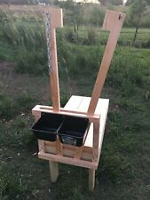 """Goat Milking Sheep Dog Grooming Fitting Stand Stanchion 18""""x36"""""""