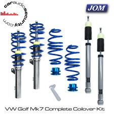 VW Volkswagen Golf Mk7 JOM Coilovers Suspension Lowering Kit 741148 Torsion Beam