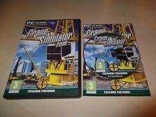 CRANE SIMULATOR 2009 ~ PC GAME PC CD-ROM