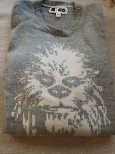 Teen Boys Xxl 14-16 Gray Gap Star Wars Chewbacca Pullover Sweater