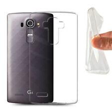 Housses et coques anti-chocs blancs transparents pour téléphone mobile et assistant personnel (PDA) LG