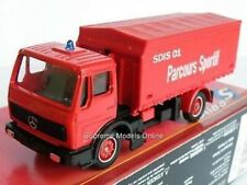 MERCEDES BENZ Fire Emergency Lorry Red Pacours MINT Packaged Issue K8967q #