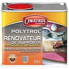 POLYTROL 500 ML, RÉNOVATEUR plastiques et gelcoat ternis et tous matériaux