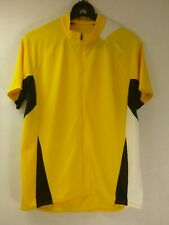 Cannondale men Cycling Jersey yellow shirt leisure club Wear sz Large new no tag