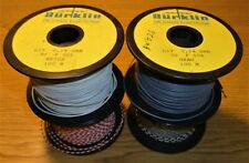 Lot of 4 spools of Burklin 0.14mm2, 26 AWG, Stranded Hook Up Wire