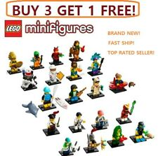 ☀️ Lego 71029 Series 20 21 Minifigures Collectibles WARRIOR Pug Girl Ladybug