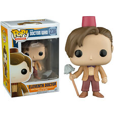 Doctor Who - 11th Doctor with Fez and Mop Pop! Vinyl Figure