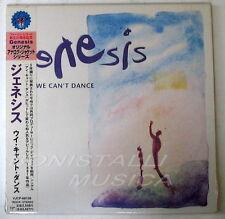 GENESIS - WE CAN'T DANCE - CD Japan w/Obi Vinyl Replica Sealed