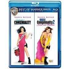 MISS CONGENIALITY / MISS CONGENIALITY 2 (2 disc set) - BLU RAY - Region free