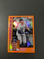 AARON JUDGE 2019 Topps Chrome Orange Refractor /25 1984 #84TC-1 New York Yankees