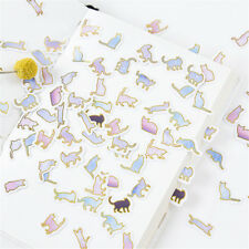 100PCS Cute animal cat Mini Paper Stickers DIY Diary Album Stick Decor Lot EB