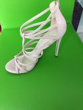 IMMAC COND ALDO LIGHT PINK  WITH DIAMANTE PRETTY SHOES SIZE 5.5/38.5 SHIMMERY