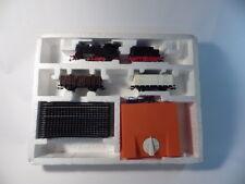 PIKO Original H0, Komplett Anlage: Lokomotive, Tender+2 Güterwagen OVP, DDR, MD2