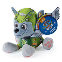 Paw Patrol Plush Toy - Rocky Air Rescue Plush - New Authentic Item - Pup Pals